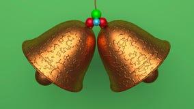 3d rindió los cascabeles ilustración del vector