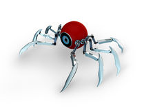 3d robot spider Royalty Free Stock Photography