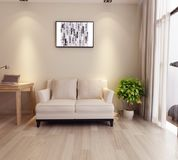 3d room image stock illustration
