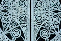 D?rrar f?r metall f?r gammal design f?r tappning antik lantliga royaltyfri fotografi