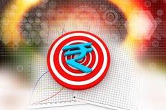 3d rupee symbol Stock Photos