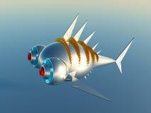 3D ryba Zdjęcia Royalty Free