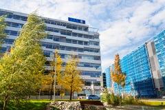 d A S 法律费用由因此小组的保险商标从德国人慕尼黑Re在捷克的大厦的保险公司商标他 库存图片