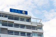 d A S legalnych kosztów ubezpieczenia znak firmowy grupą od niemiec Monachium firm ubezpieczeniowych ponownego loga na budynku cz Obraz Stock