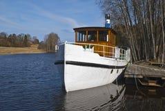 D/S Thor, Weinlese Steamboat stockbilder