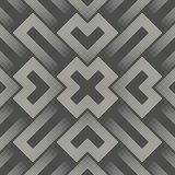 3d Sacred Geometry Background. Abstract Aztec Pattern Stock Images