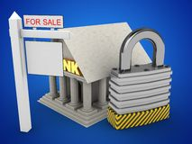 3d sale sign Royalty Free Stock Images