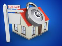 3d sale sign Stock Photography