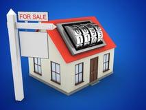 3d sale sign Stock Image
