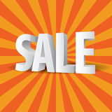 3D Sale Royalty Free Stock Photo