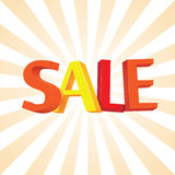 3D Sale Stock Photo
