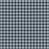 3d samenvatting betegelde mozaïekachtergrond in grijs stock illustratie