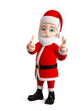 3d santa for christmas Royalty Free Stock Photos