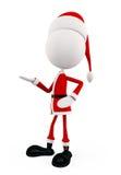 3d Santa for Christmas Stock Image
