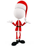 3d Santa for Christmas Royalty Free Stock Images