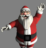3d Santa Claus. 3d render of a toon style Santa Claus Stock Image
