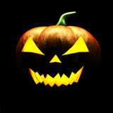 3d scary Halloween pumpkin Royalty Free Stock Images