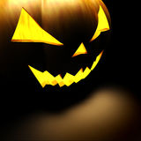 3d scary Halloween pumpkin Stock Images