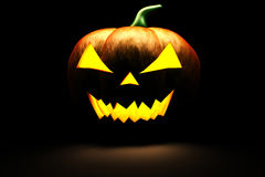 3d scary Halloween pumpkin Royalty Free Stock Photo