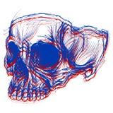 3d schedel Royalty-vrije Stock Foto's