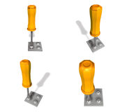3D Screw driver icon. 3D Icon Design Series. Stock Images