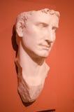 100 A d sculptez le portrait du premier empereur d'Augustus de Rome Image stock