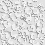 3d seamless floral background royalty free illustration