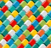 3d seamless pattern. Stock Photo