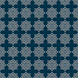 3d seamless pattern in arabic style. Vector background Stock Photos