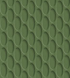 3D Seamless Pattern in Kale Color. Royalty Free Stock Photography