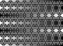 3d Seamless Web Geometric Pattern. Frame Border Wallpaper. Royalty Free Stock Images