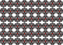 3d Seamless Web Geometric Pattern. Frame Border Wallpaper.  Stock Photos
