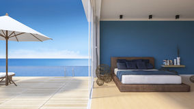 3d seaside house Royalty Free Stock Photos
