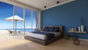 3d seaside house Stock Photography