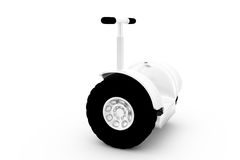 3d segway concept Stock Image