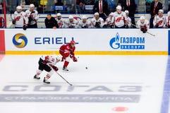 D Semin 42 vs A Stas 23 Fotografering för Bildbyråer