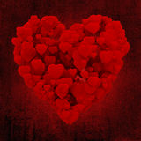 3d serce robić serca Obraz Royalty Free