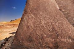 D?sert de Sahara, Alg?rie photographie stock libre de droits