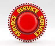 3d service sign Stock Photo