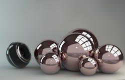 3D sfera Fotografia Royalty Free