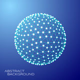 3d sfera wektor Obrazy Stock