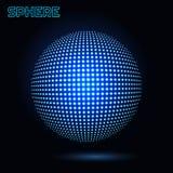 3d sfera wektor Fotografia Royalty Free