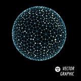 3d sfera wektor Zdjęcia Stock