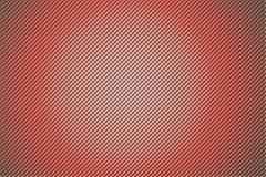 3D shape holes on metallic panel Stock Image