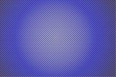 3D shape holes on metallic panel Stock Photo