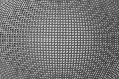 3D shape holes on metallic panel. Round shape holes on metallic panel Stock Images