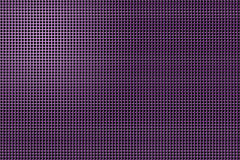 3D shape holes on metallic panel royalty free stock image