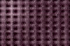 3D shape holes on metallic panel royalty free stock photography