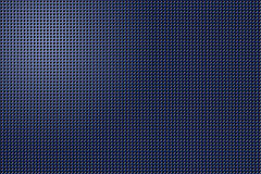 3D shape holes on metallic panel stock photography