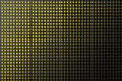 3D shape holes on metallic panel Stock Photos